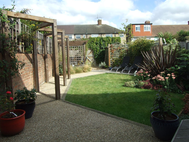 Isleworth, London -  Rear Garden
